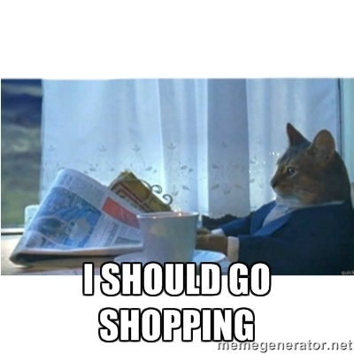 Let's go shopping.